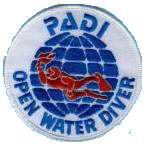 Padi Open-Water Embleem