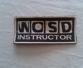 WOSD instructeur embleem