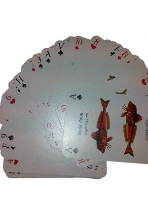 Speelkaarten vissen