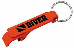 Sleutelhanger Flessenopenen Diver