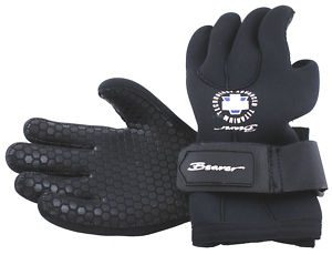 Beaver 5 vinger handschoen 7mm