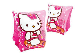 Zwemvlinders van Hello Kitty