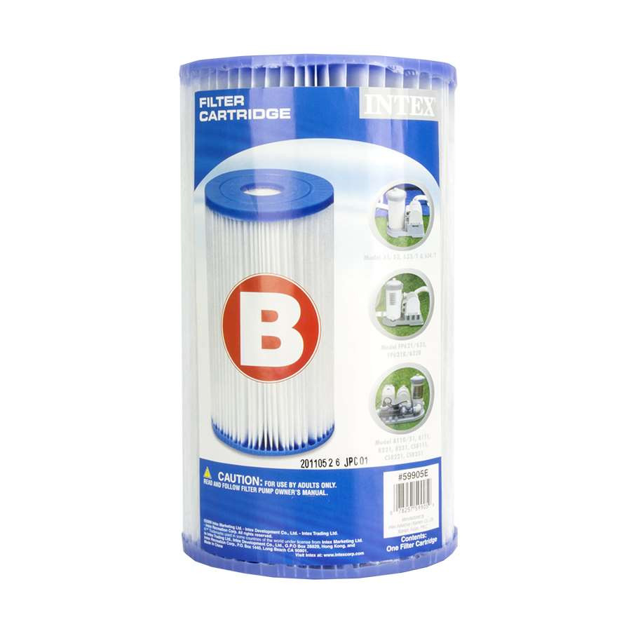 Intex B- filter patroon / cardridge