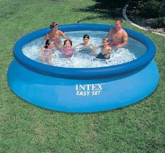 intex easyset zwembad 3.66cm x 76 (zonder pomp)