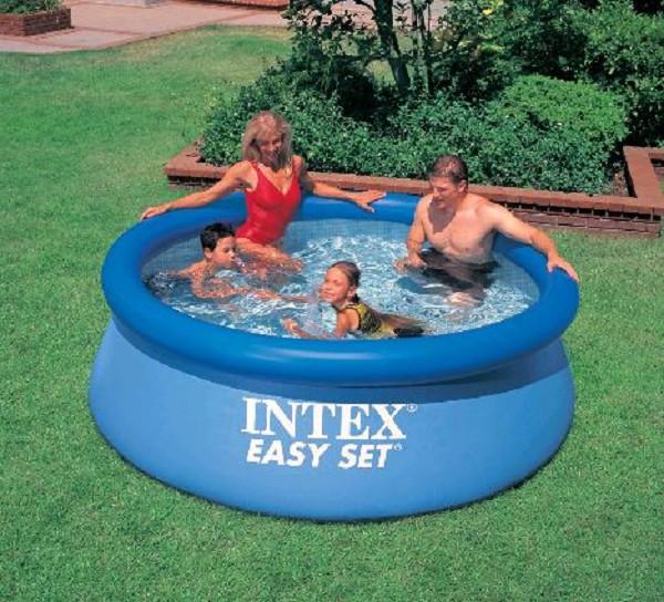 Intex easy set zwembad (zonder pomp)
