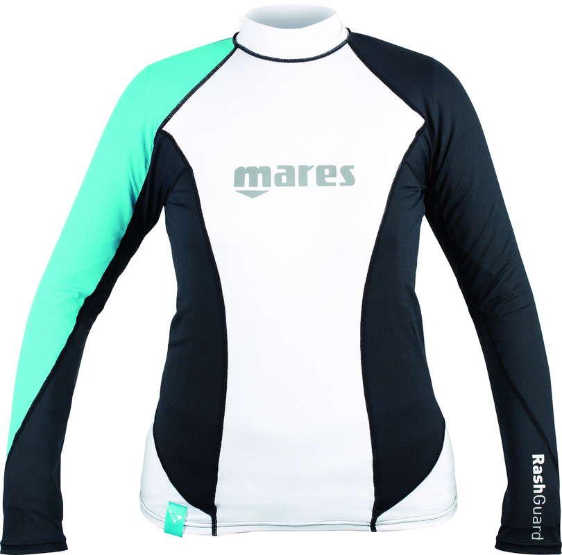 Mares Rash Guard L/S Loose Fit She Dives Aqua