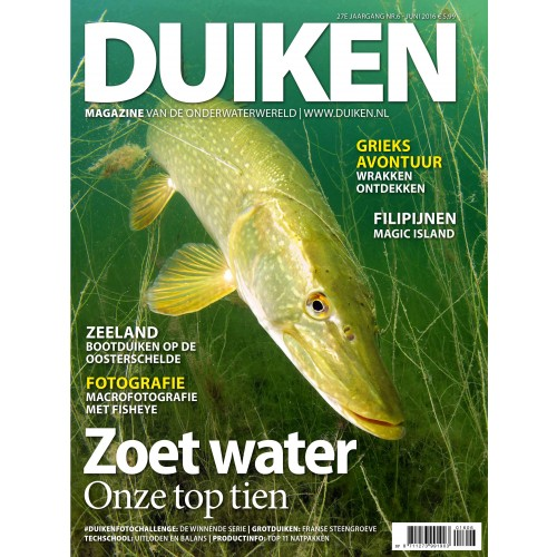 Duiken Magazine 27E jaargang NR.6 - Juni 2016