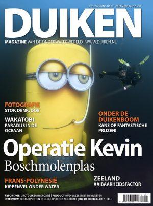Duiken Magazine 27E jaargang NR.12 - December 2016