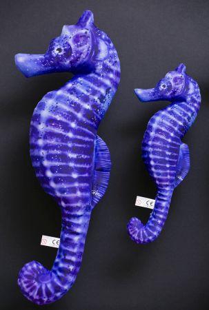 Zeepaard blauw (Seahorse Blue)