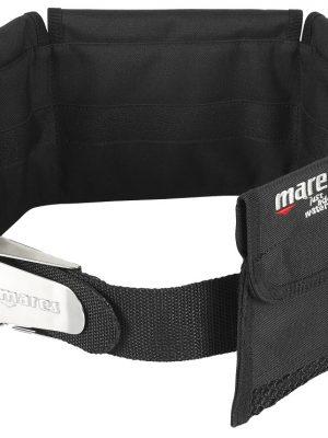 Mares 4 Vaks softloodgordel met stalen gesp / buckle