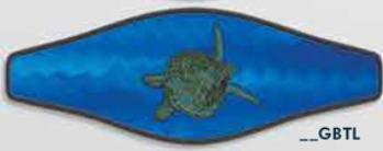 """Strap Wrapper """"Turtle"""""""