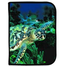 Logboek met afbeelding van schildpad