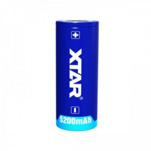 De XTAR 26650 Rechargeable Li-ion Battery is een herlaadbare accu gemaakt door XTAR deze batterij is geschikt voor meerdere duiklampen.